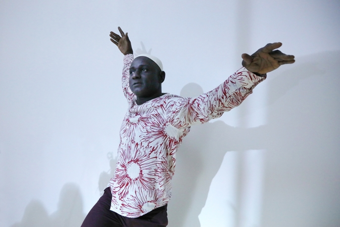 Souleymane Badolo performs Fragility at Asia Society
