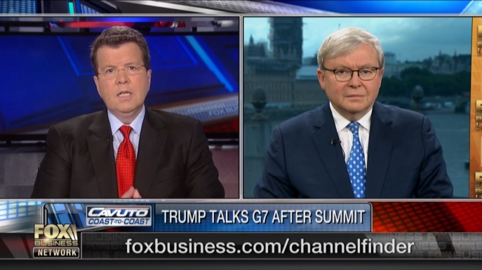 Kevin Rudd Fox News June 12