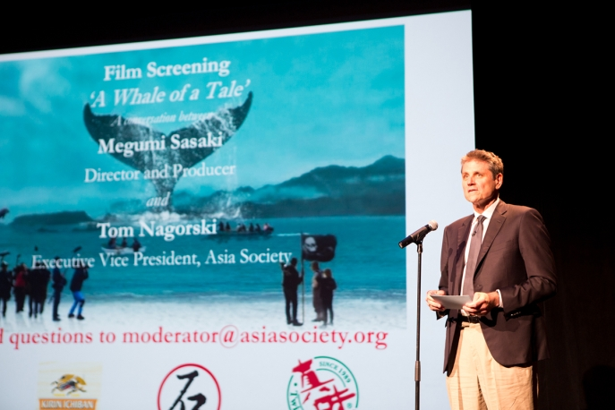 Asia Society Executive Vice President Tom Nagorski introduces A Whale of a Tale