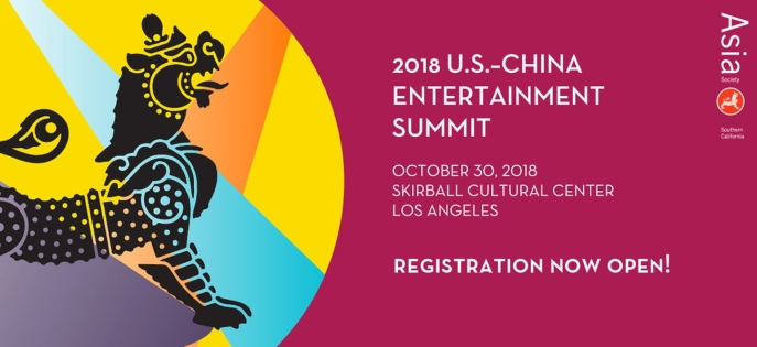 Register for 2018 U.S.-China Entertainment Summit
