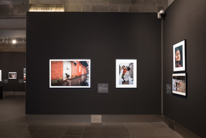 Installation view of Double Take: Picturing Asia.