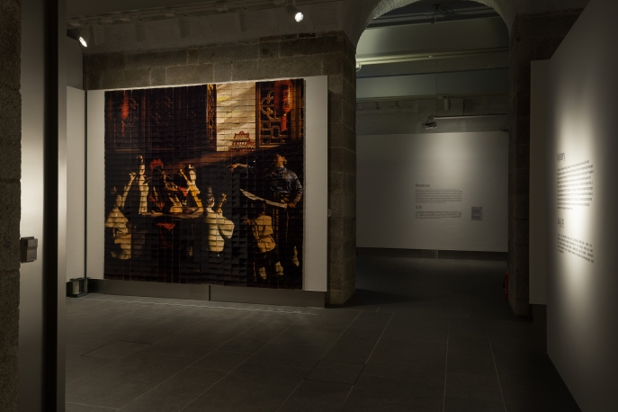 Installation view of The Hong Kong Jockey Club Presents: Light and Shadows - Caravaggio • The Italian Baroque Master.