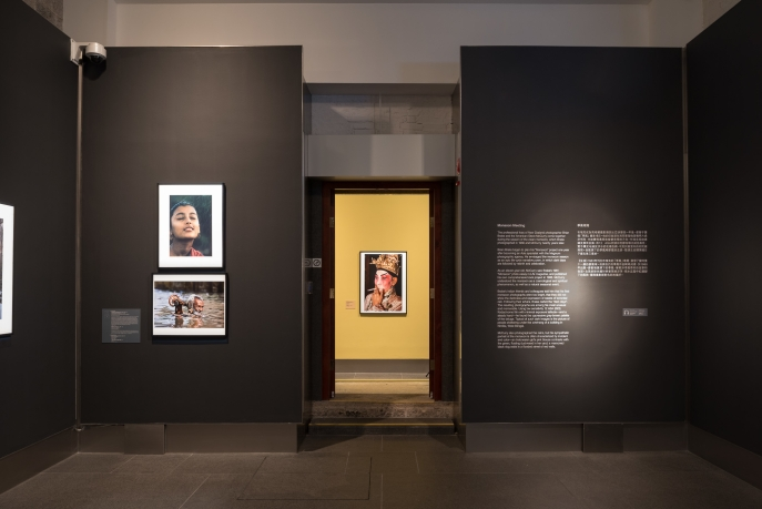 Installation view of Double Take: Picturing Asia. Photo: Scott Brooks.