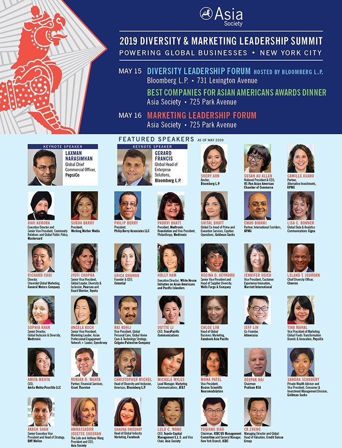 2019 Diversity and Marketing Leadership Forum All Speakers