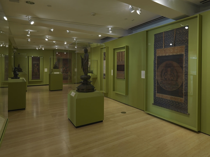 Installation view of the Art of Impermanence