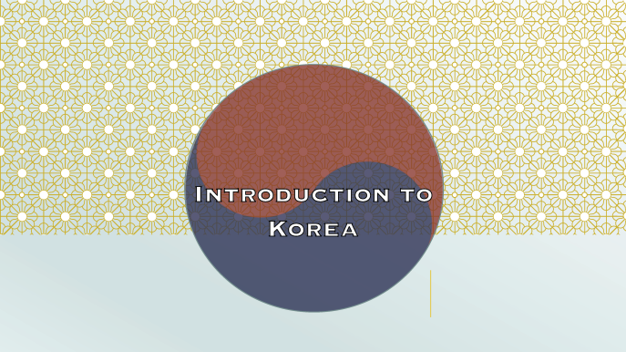 At-Home Adventures: Korea Day 1 Intro Page