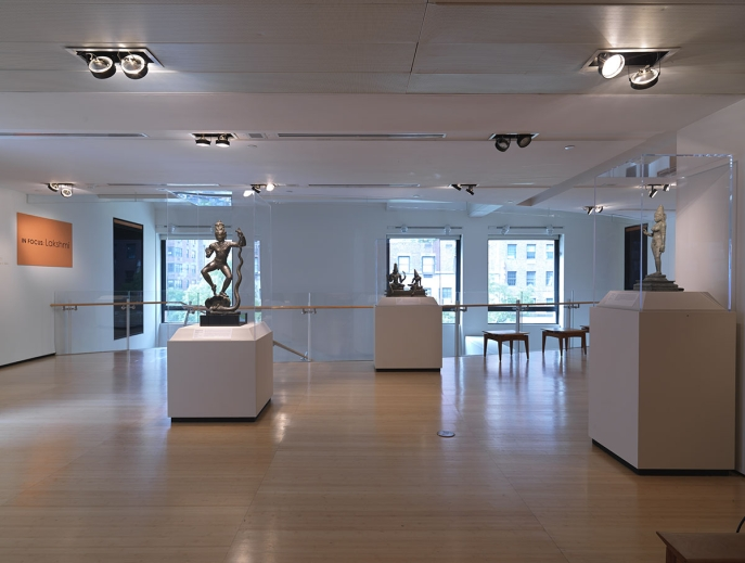Installation view of In Focus: Lakshmi
