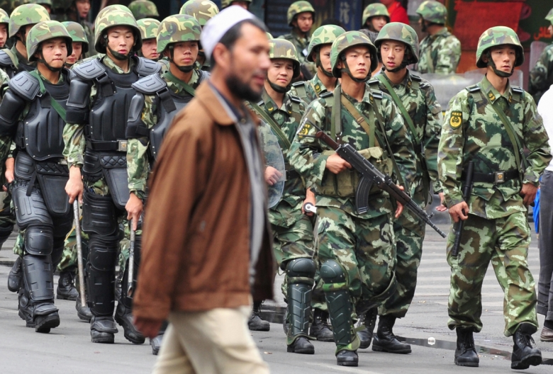 Police surveillance of China's Uighur population has increased