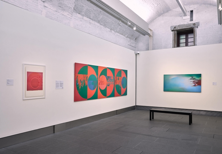 Installation view of A Story of Light: Hon Chi-fun