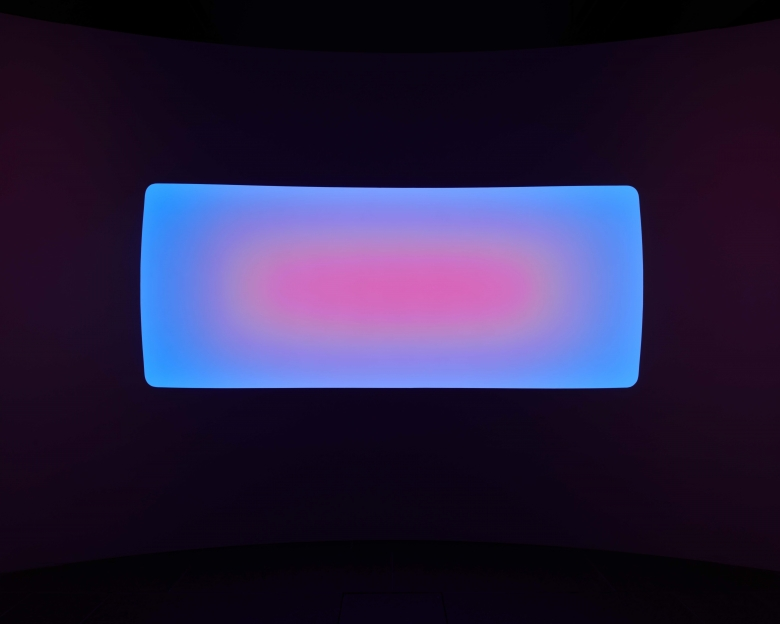 Installation view of Yukaloo by James Turrell. Photo: Martin Wong