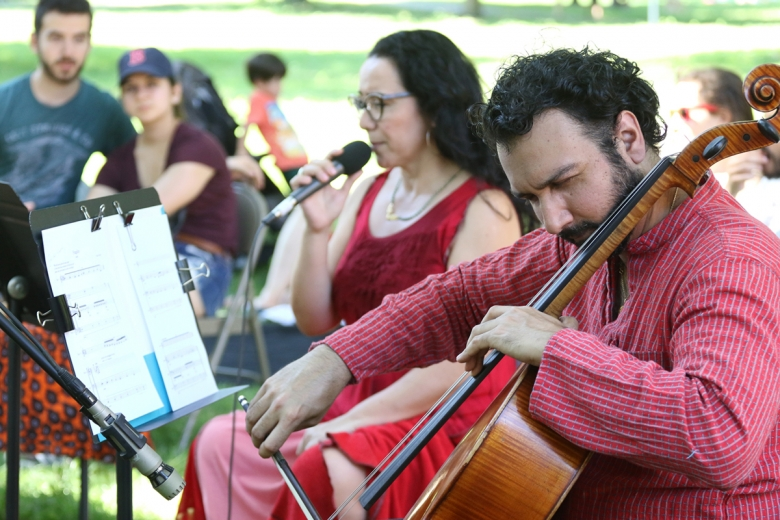 Fragility: A Game of Polyrhythms at Governor's Island